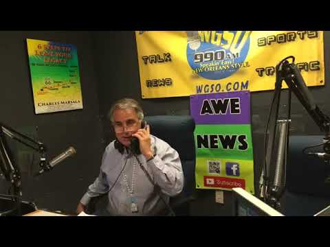 Charles Marsala Guest Host on WGSO Radio 990AM New Orleans
