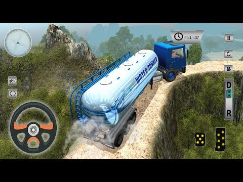 Truck Transporter Water Tanker (by Vesper Games) Android Gameplay [HD]