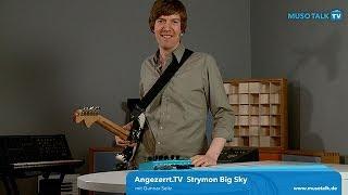 Test - Strymon Big Sky Effektgerät - deutsch