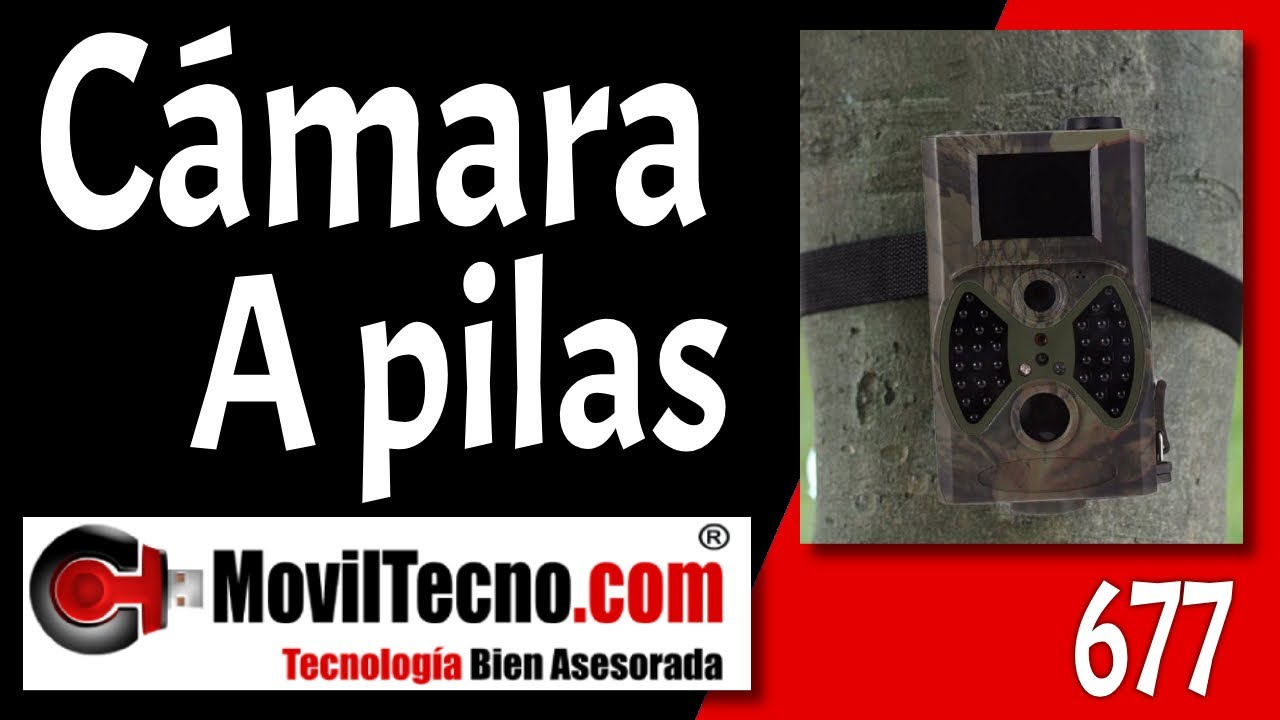 C mara de caza video vigilancia camuflada - Camara de video vigilancia ...