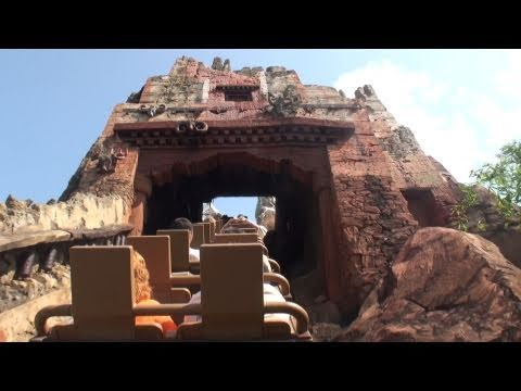 Expedition Everest POV Back Seat Disney's Animal Kingdom Florida