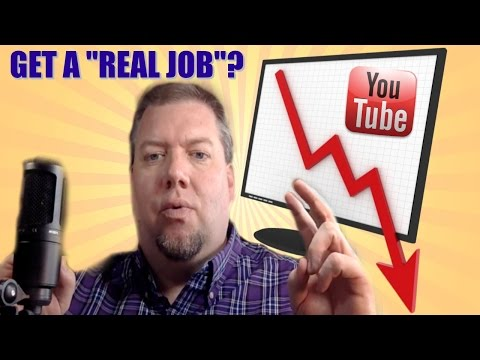 GET A REAL JOB? | When YouTube Isn't Enough