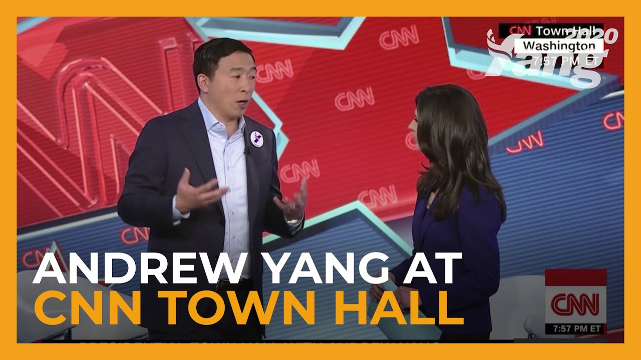 Andrew Yang talks economy, jobs at town halls across NH