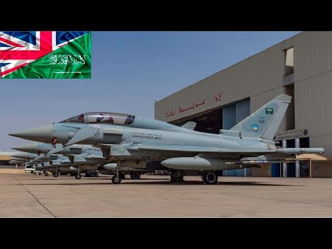 Saudi Arabia signs deal for 48 Typhoon fighter jets from UK