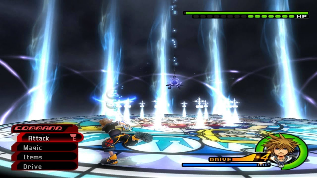 Image result for kingdom hearts 2 roxas fight