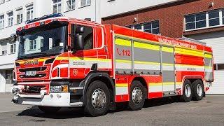 POŽÁRY.cz: Osmikolové kombinované hasicí automobily Scania nahradí u HZS MSK dosluhující Tatry 815