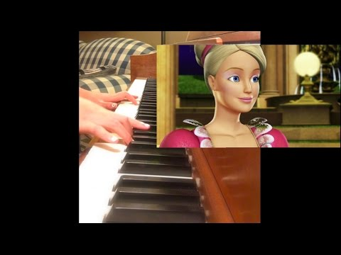 Barbie in the 12 Dancing Princesses - Shine Piano Cover with Sheet Music