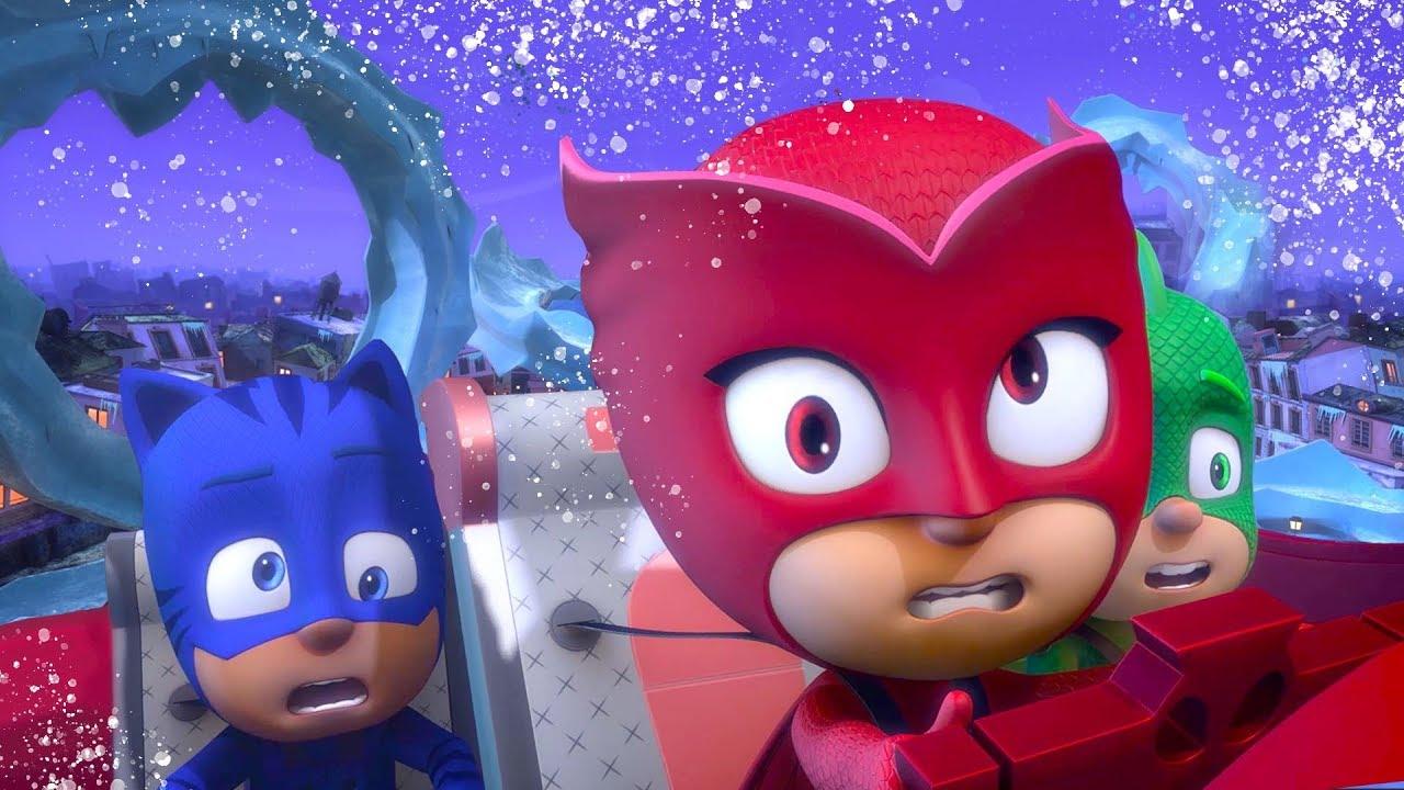 Pijamaskeliler Noel Özel  Klip Derlemesi | çizgi filmleri çocuklar için