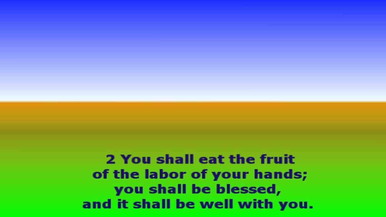 Mim Salmo 128 Biblia Catolica Wwwtollebildcom