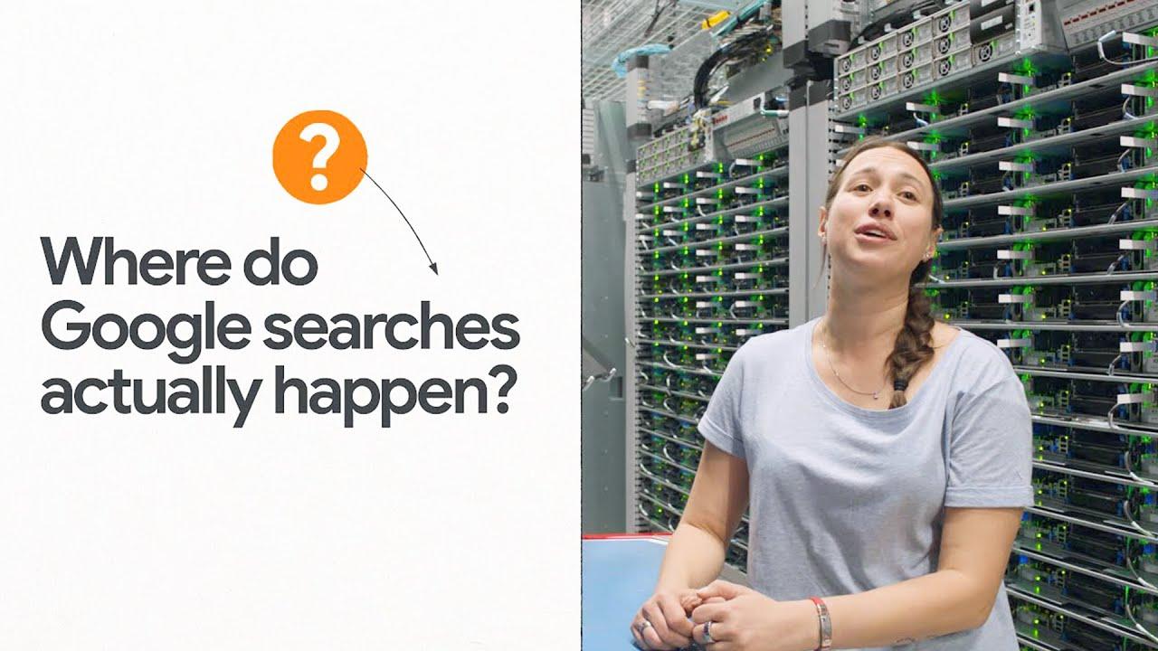 Where do Google searches actually happen?