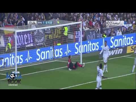 أهداف ريال مدريد 2-1 برشلونة [2_3_2013] عصام الشوالي [HD]