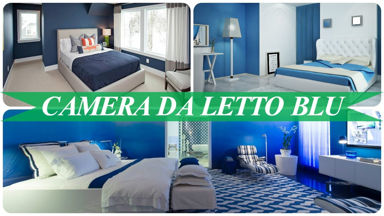 Camera da letto blu youtube for Planimetria camera da letto