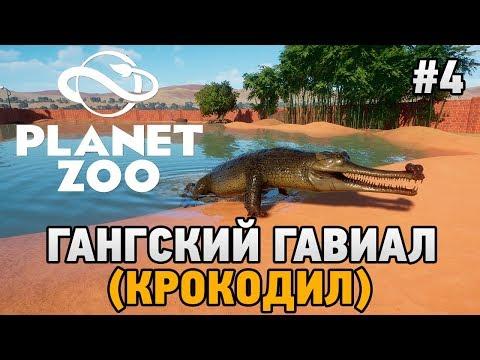 Planet Zoo #4 Гангский гавиал (крокодил)