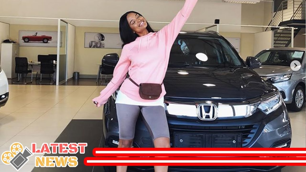 Download Multi-talented Ayanda Thabethe buys her mom an expensive car
