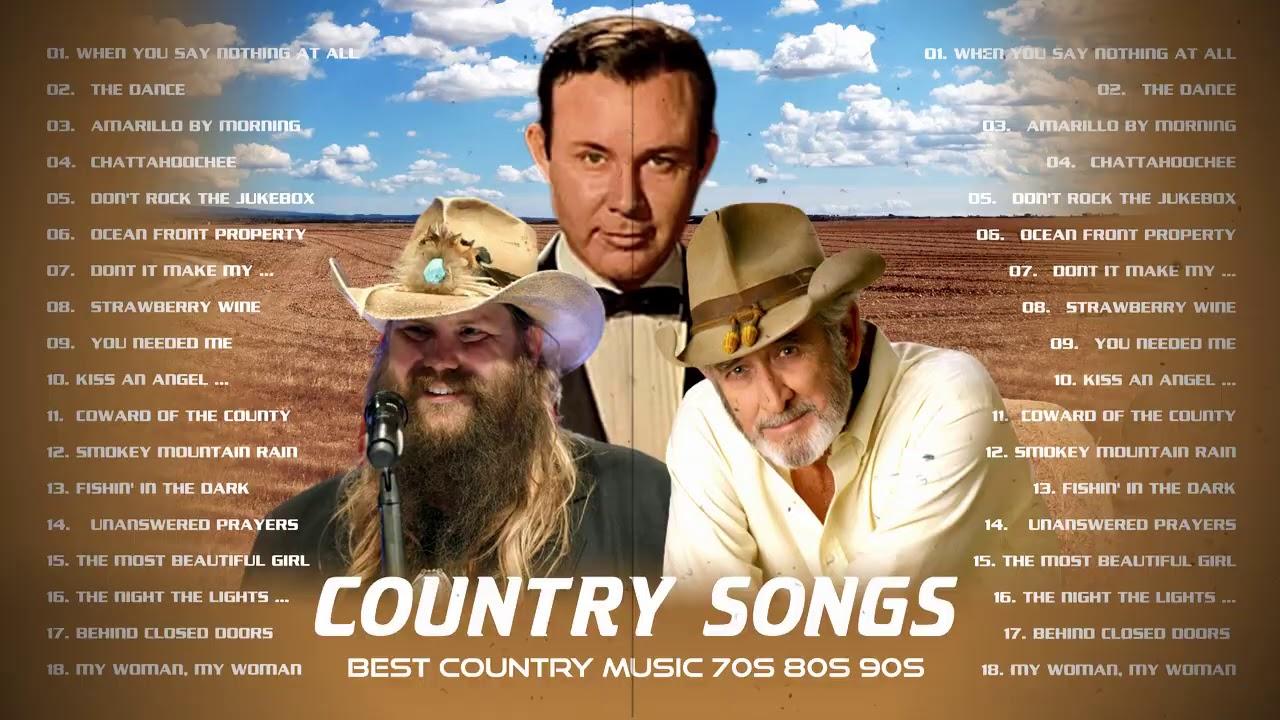 Download Jim Revees, Chris Stapleton, John Denver, Kenny Rogers - Best Slow Country Songs Of All Time