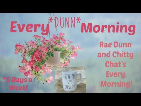 """ SECRET "" RAE DUNN BIRDHOUSE NEWS? Every * DUNN * Morning Ep2"