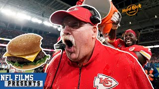 Treat Yourself to a Cheeseburger, Andy Reid   NFL Films Presents