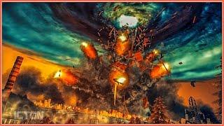 HALF-LIFE 2 Cinematic Citadel Explosion | SFM