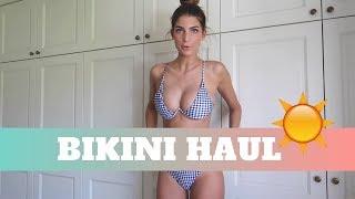 BIKINI TRY-ON HAUL & REVIEW FLORALKINI (NL)👙
