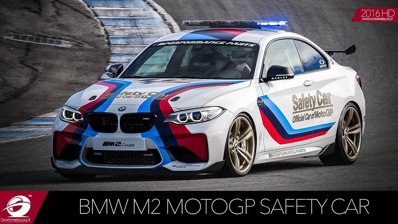 BMW M2 Safety Car | EXHAUST SOUND .. Racetrack Accelerations - YouTube