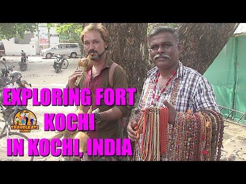 EXPLORING FORT KOCHI IN KOCHI INDIA / TRAVELKATZFAMILY