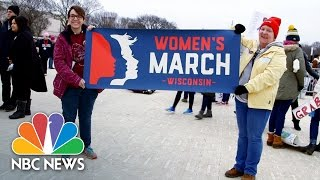Together, This Mother and Daughter Organized Wisconsin Women Who Marched in Washington | NBC News