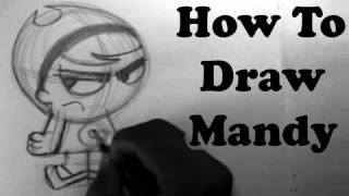 How To Draw Mandy