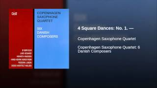 4 Square Dances: No. 1. —