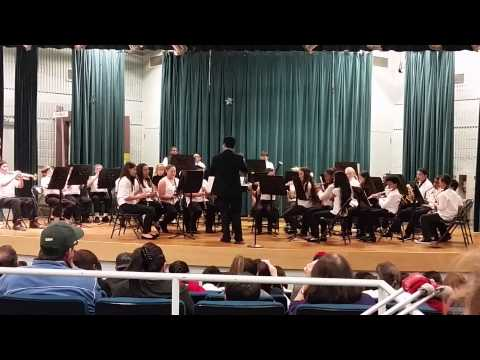 Black Diamond Middle School Festival Band - Winter Concert 2014
