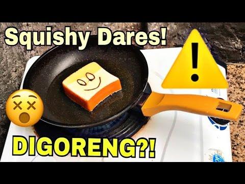 GORENG SQUISHY?!! X-Treme Squishy Dares!