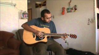 Shiva First Song Practise on Guitar (Jeans Film Theme Music by ARR )
