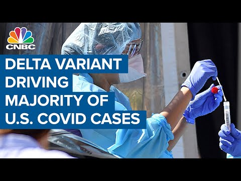 Delta variant now accounts for 83 percent of new Covid cases