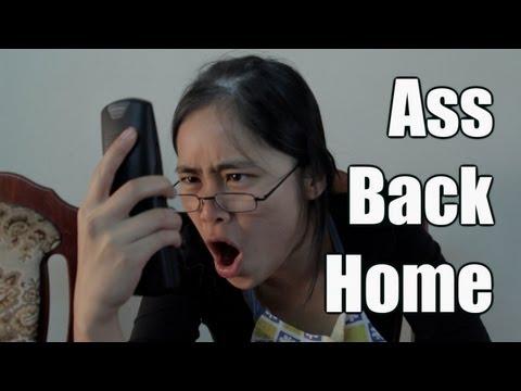 Ass Back Home Parody (Gym Class Heroes)