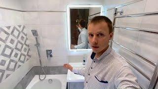 Красивая ванная. Крутые решения. Ремонт санузла под ключ. Гарант-Ремонт