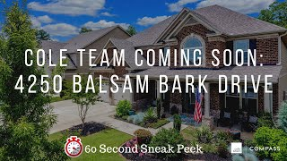 COLE TEAM Introduces: 4250 Balsam Bark Drive, Cumming, GA  30028 in Quail Hollow