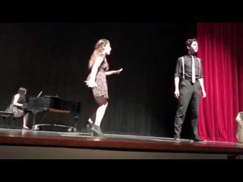 Paly Senior theatre graduation-Shrek?