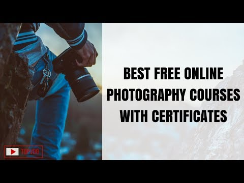 Best Free Online Photography Courses with Certificates   Creative & Digital Photography courses