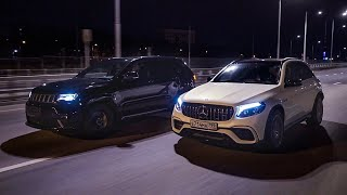 Jeep TrackHawk VS Mercedes-AMG GLC63s — Гурам VS Яглыч