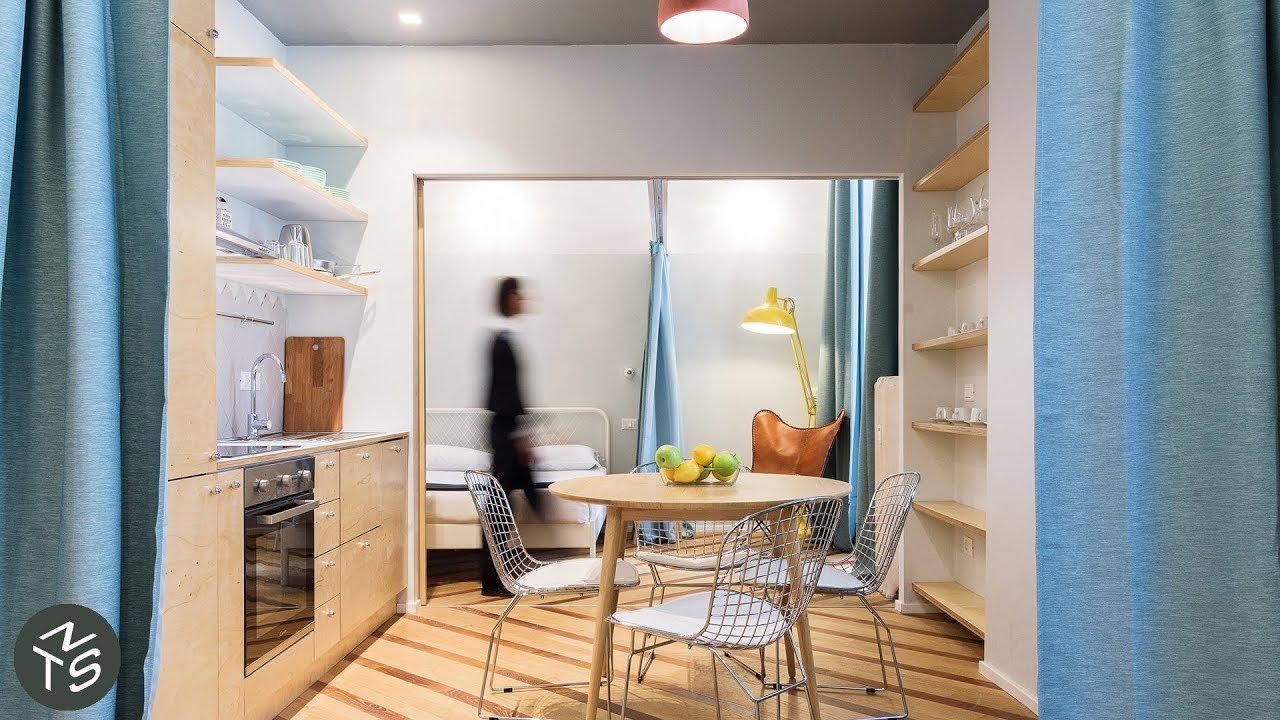 NEVER TOO SMALL 44sqm/473sqft Transforming Studio Tiny Apartment - Abruzzi