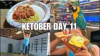 KETOber Day 11 | Keto Full Day of Eating | Our Next Pet? | CrossFit Workout!