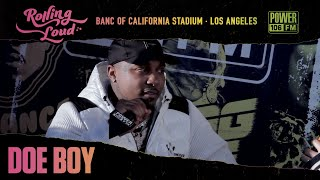 "Doe Boy Talks ""Oh Realllyyy"" Merch Line , New Music In 2002, & Meaning Behind Face Tatt"