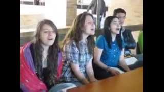 خواندن بسیار دیدنی آهنگ محسن یگانه توسط دانشجو آمریکایی