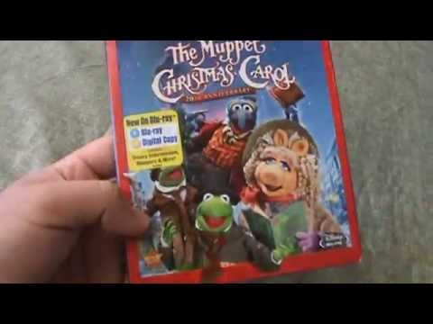 The Muppet Christmas Carol Blu-Ray Unboxing - YouTube