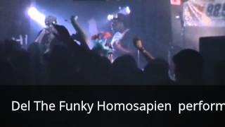 Del The Funky Homosapien in Kalamazoo 10-27-12