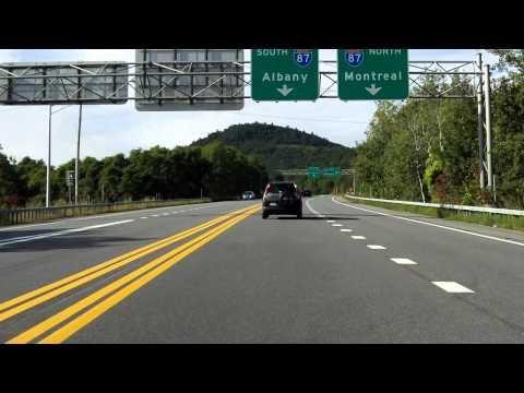 Adirondack Northway (Interstate 87 Exit 22) outbound