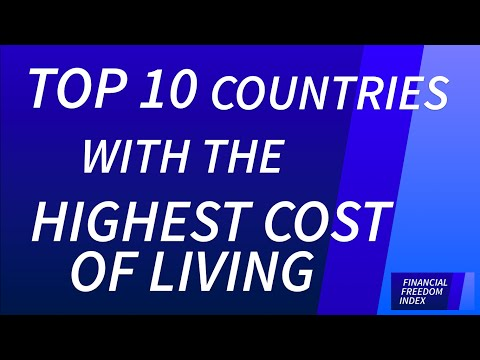 Top 10 Countries with the Highest Cost of Living (2014/15) - FINANCIAL FREEDOM INDEX