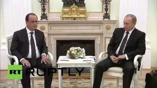 Russia: Putin and Hollande set to form international anti-terror coalition