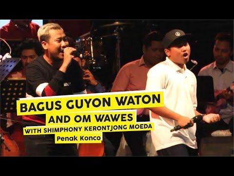 [HD] Bagus  Guyon Waton & Om Wawes - Penak Konco (Live at Keroncong Plesiran 2018)