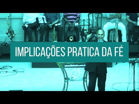 Ministração Bispo Pedro Gomes - Implicações Pratica da Fé