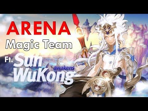 Seven Knights Arena - Awakened Wu Kong (Magic Team)